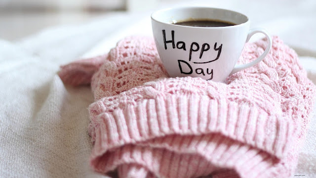 Happy Day Good Morning HD Wallpaper