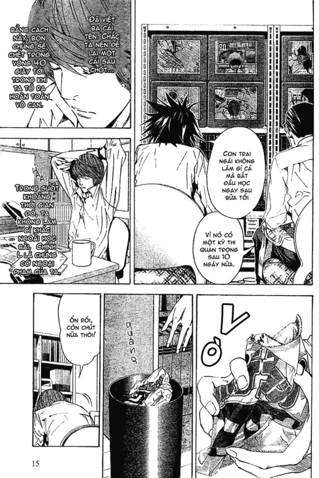 Death Note chapter 017 trang 15