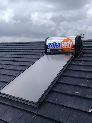 Pemasangan WIKA Solar Water Heater (WIKA SWH) 150L