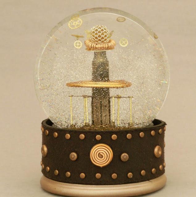Tesla Coil snow globe