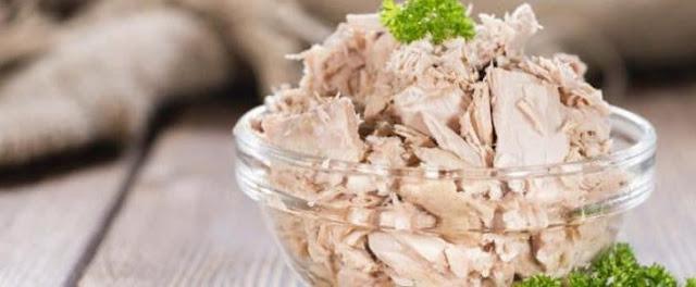 رجيم التونه المصفاه من الزيوت لفقد الوزن