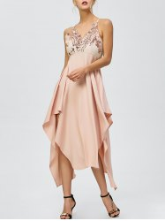 http://www.rosegal.com/club-dresses/backless-sequined-handkerchief-dress-1011555.html?lkid=138388