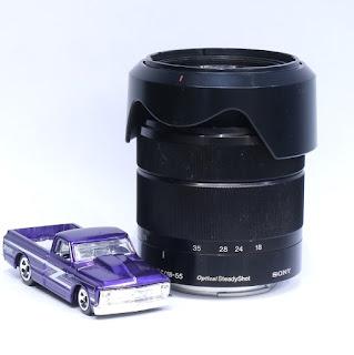 Lensa Sony 18-55mm F3.5-5.6 OSS E-mount Di Malang
