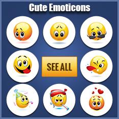 Cute Facebook Emoticons
