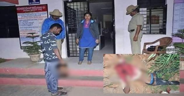 3 GAMBAR Kerana Marah Adik Dir0gol, Abang Penggal Kepala Perogol Bawa Ke Balai Polis