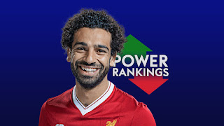 Leader of the weekend - Mohamed Salah - Current rating of the best 50 players of the Premier League