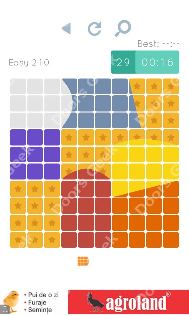 Cheats, Walkthrough for Blocks and Shapes Level 210