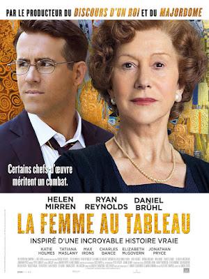 La Femme Au Tableau poster
