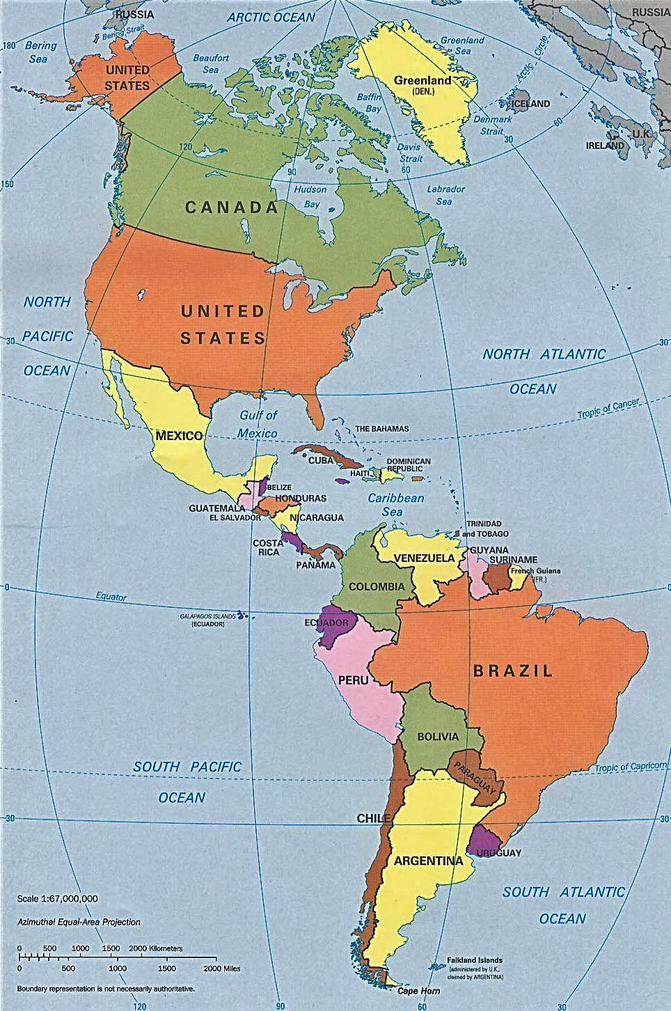 Letak Astronomis Benua Amerika : letak, astronomis, benua, amerika, Geografi, Benua, Amerika