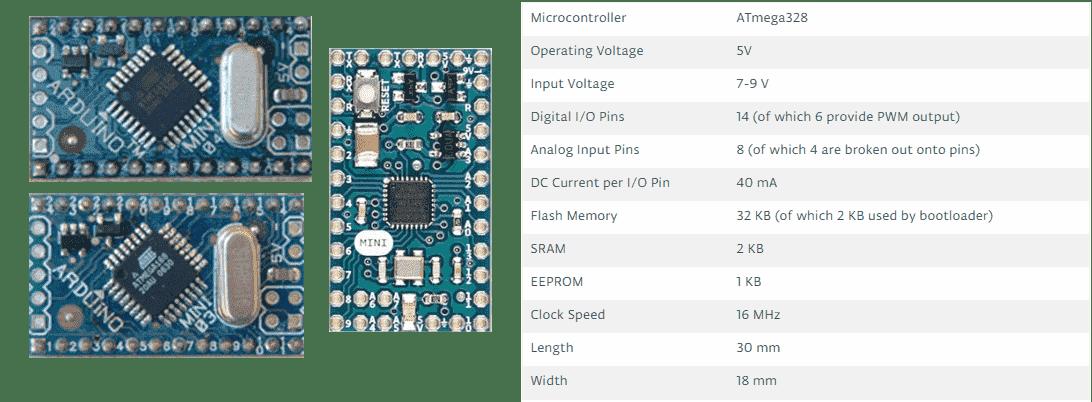 لوح الاردوينو ميني Arduino Mini