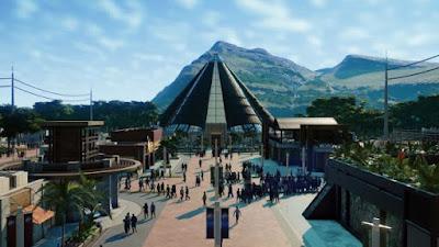 Manage Shops, Make Profit, Jurassic World Evolution