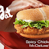 Spicy Chicken McDeluxe Hot & Kickin' Chicken