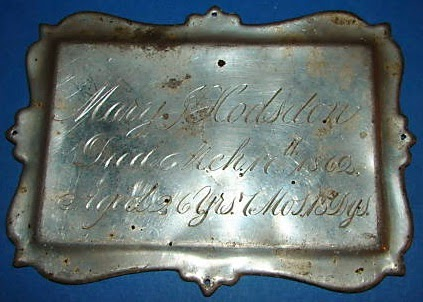 Coffin Plate