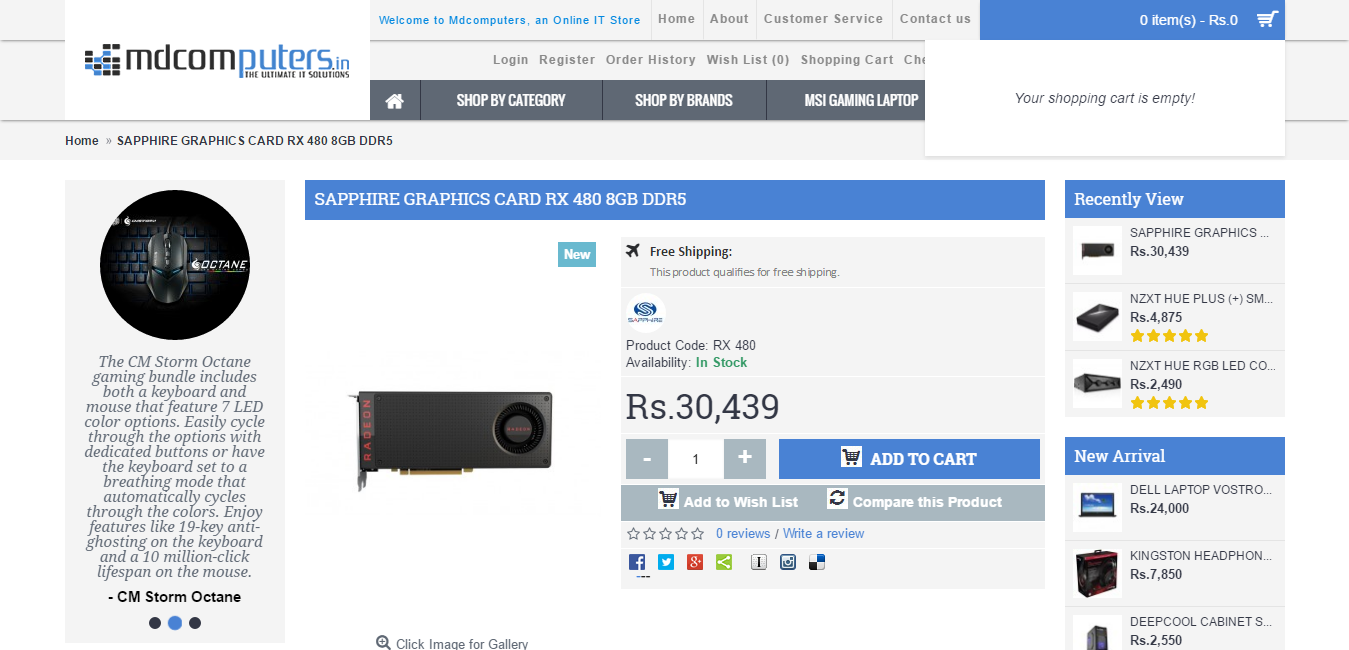 Tech Zone: AMD RX 480 Indian Market price revealed at Rs 30,493