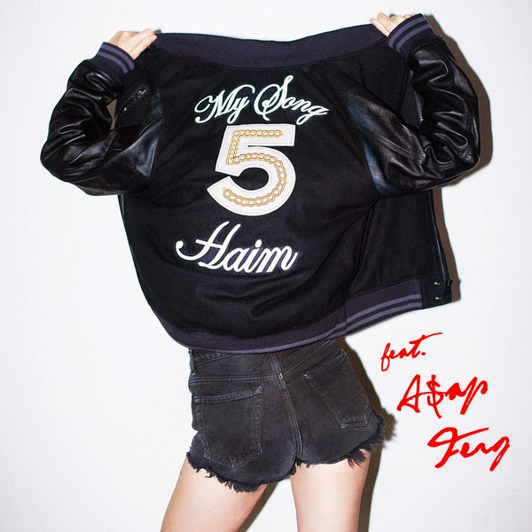 HAIM - My Song 5 (feat. A$AP Ferg) [Remix] - Single Cover