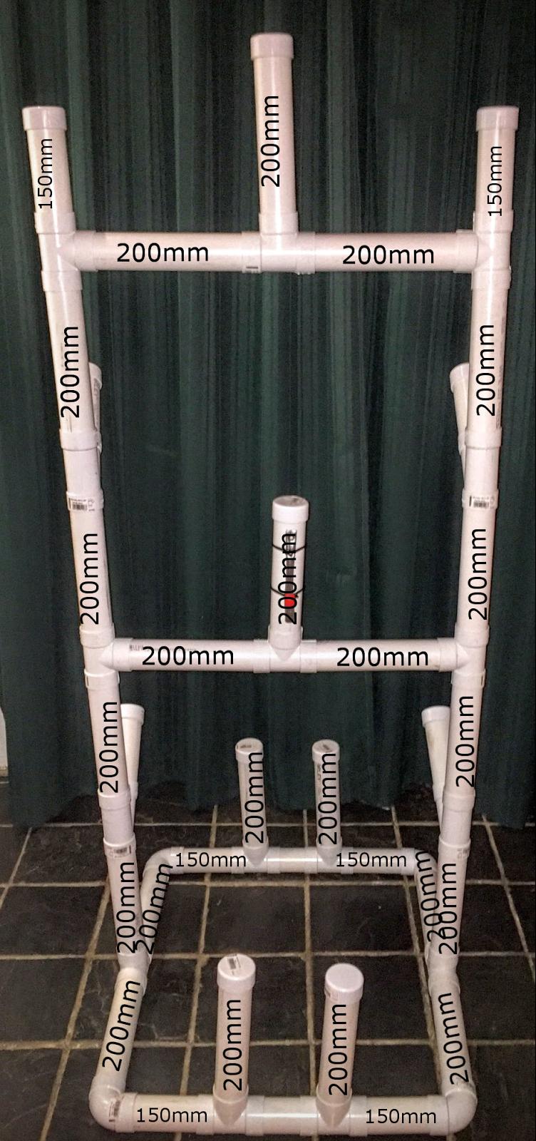 Diy Ice Hockey Drying Rack Who Elscoza