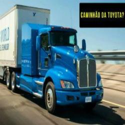 Novo caminhão da Toyota (movido a hidrogênio)? Veja esse projeto inovador acelerando fortemente