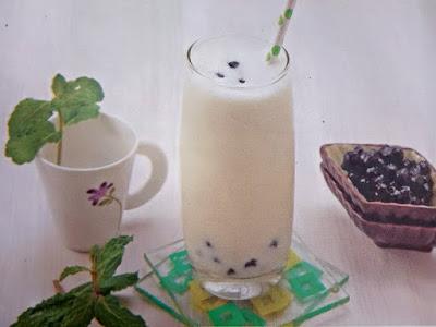 Gambar Resep Bubble Smoothies Melon Untuk Diet Sehat