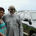 Snail Seller Meets Governor Akeredolu, Her Long Time Customer