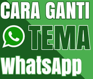 Cara singkat Mengubah Tema Background di Whatsapp