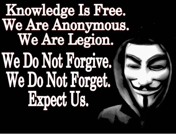 Grupo hacker Anonymous