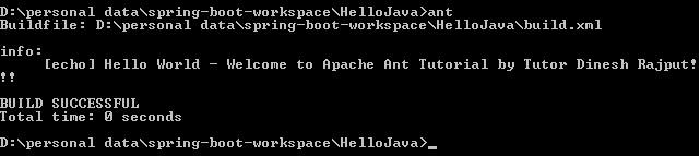 Ant Proprty Task