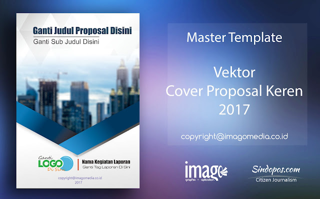 Download Update Template Desain Cover Proposal Keren 2019