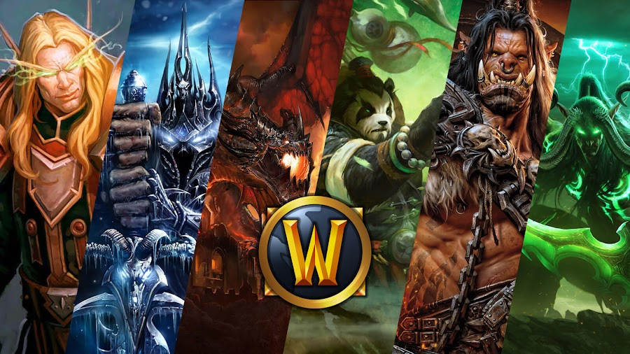 blizzard world of warcraft expansions