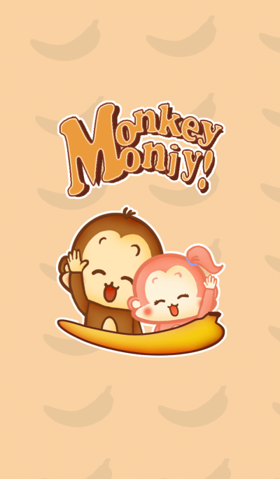 Monkey Monji change of clothes