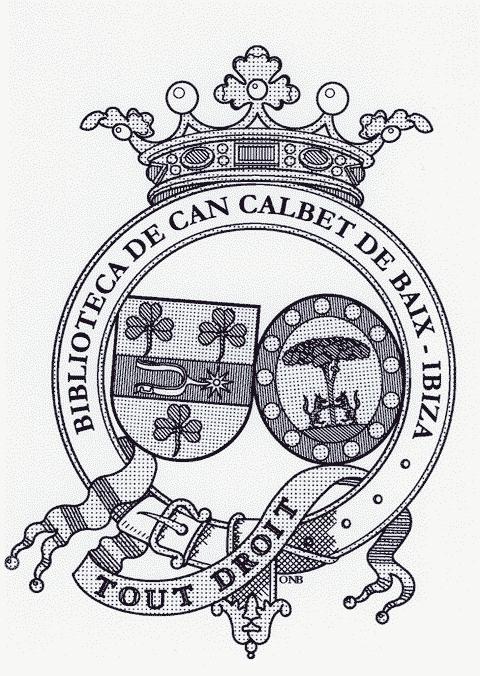 BIBLIOTECA DE CAN CALBET DE BAIX - IBIZA.