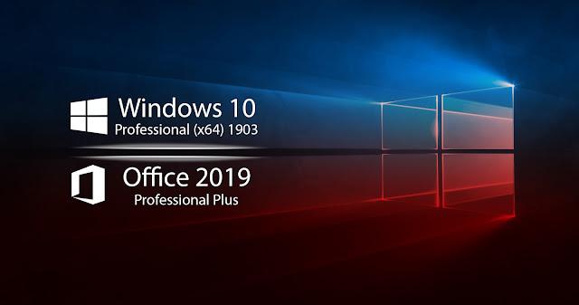 Windows 10 Pro x64 1903 + Office 2019
