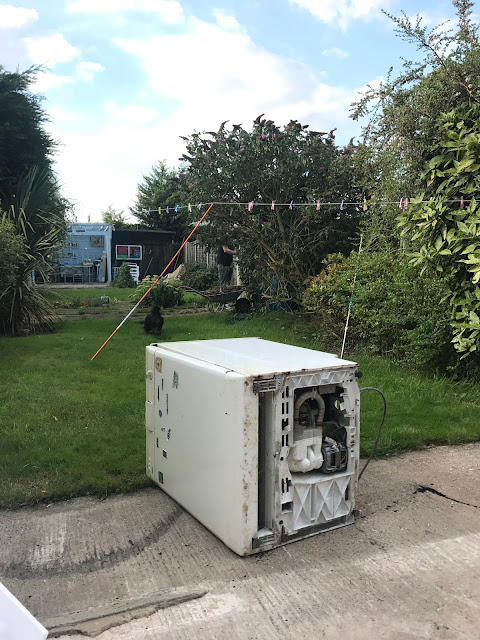 Removing an old dishwasher