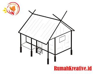 atap rumah adat sunda 2