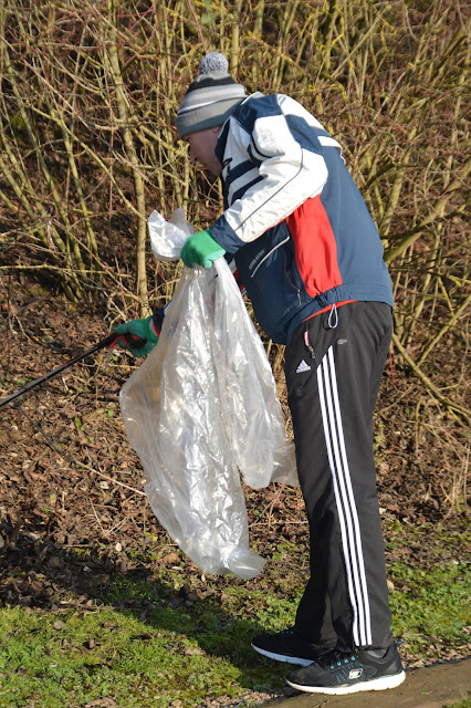 Peterborough Green Party litter picker
