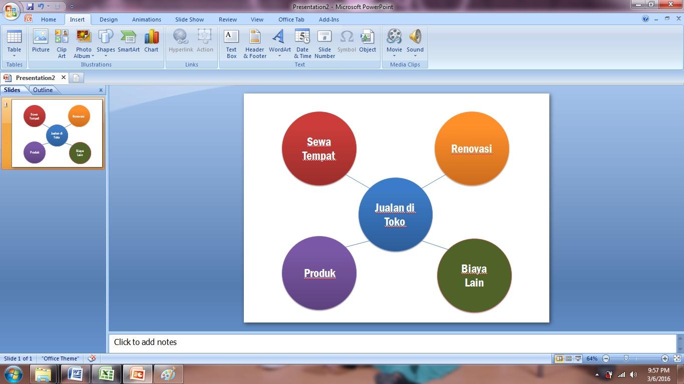 langkah, model, warna, animasi, mengatur, pilih, slide, presentasi, menarik