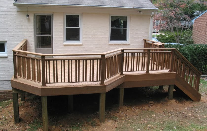 Deck Design Ideas: Deck Railing Designs and Ideas