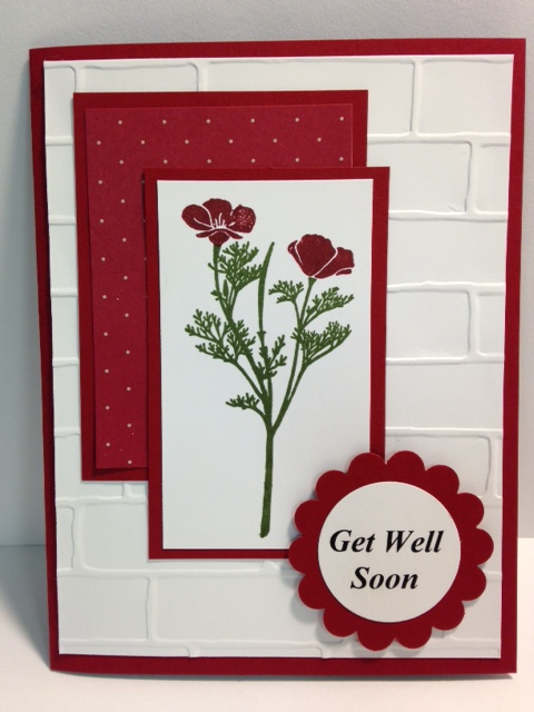My Creative Corner! A Wild about Flowers Get Well Card