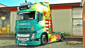 HUNGARY paint job for Volvo 2013 (EviL)