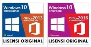 Lisensi Windows dan Office harga 200 ribuan, Apakah Legal?