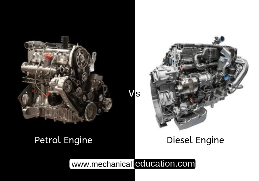 Petrol-Engine-Diesel Engine-Difference