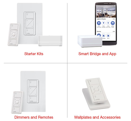 Lutron Caseta Wireless Remote Control Systems