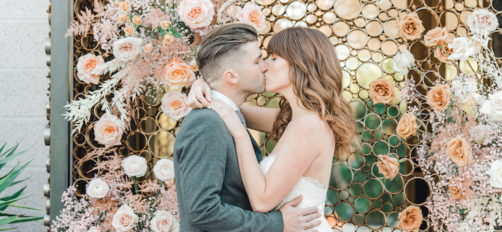 All the Heart Eyes for this Epic Elopement