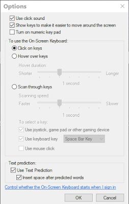 windows 10 tutorials onscreen keyboard options explained