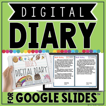 Digital Diary for Google Slides