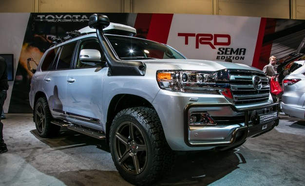 Toyota Land Cruiser TRD Edition Half Are There Problem