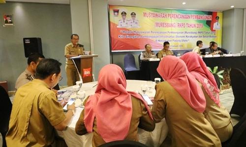 Padang Utara Gelar Musrenbang RKPD 2019