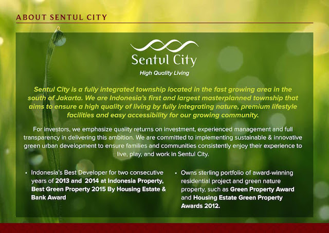 About Sentul City