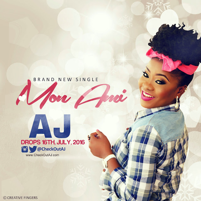 "Coming This July.. Brand New Single ""Mon Ami"" By AJ"