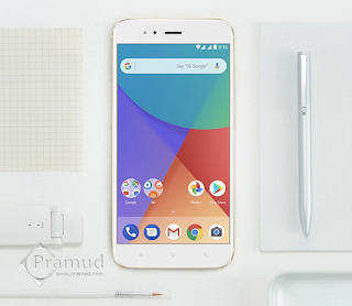 review, bongkar, unboxing xiaomi mi a1 indonesia - pramud blog