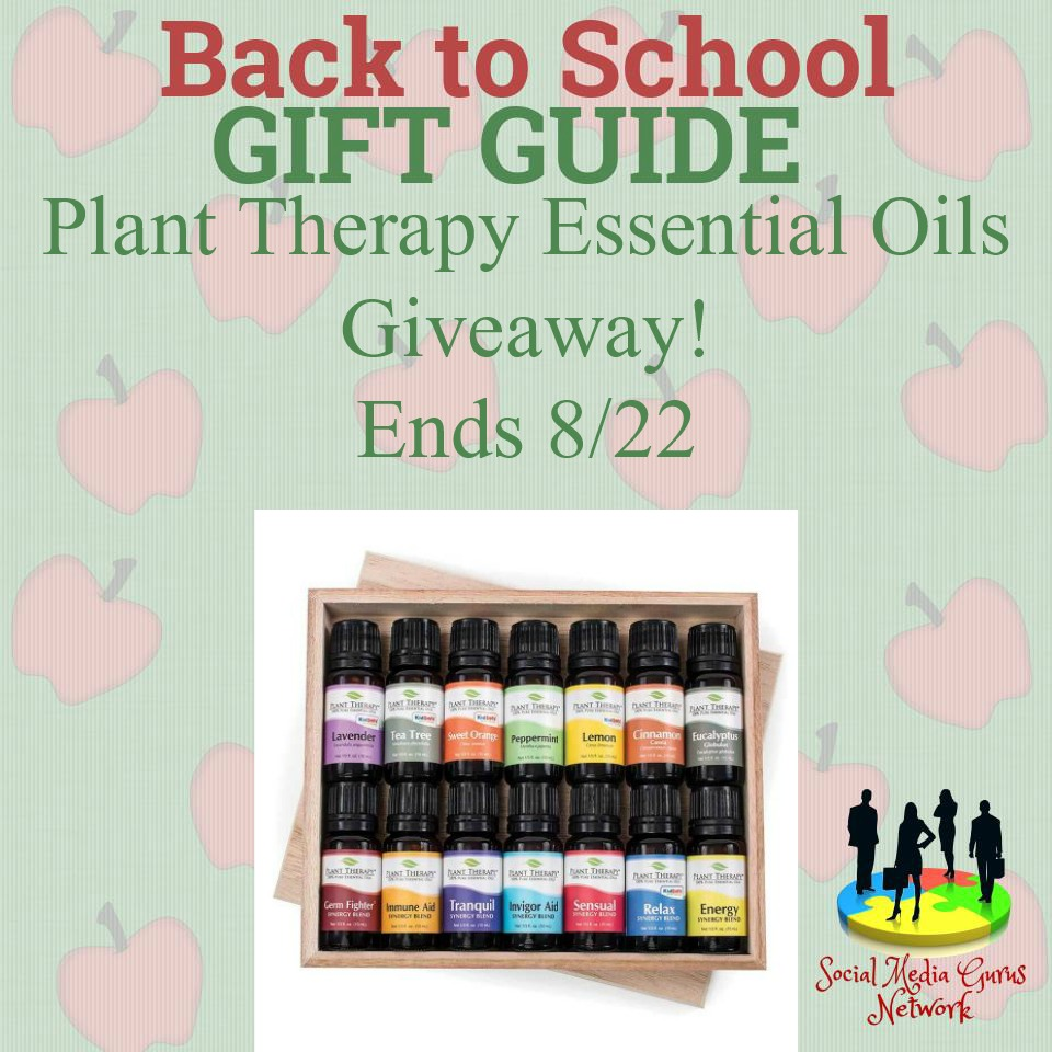 Essential Oils Giveaway